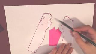 Урок 2  Моделирование рукава с вырезом по плечу