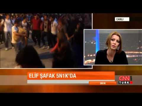 Elif Şafak'tan Gezi Parkı yorumu