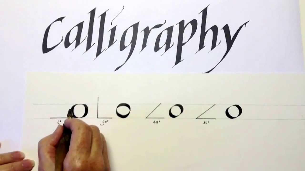 Calligraphy Three Golden Rules Youtube