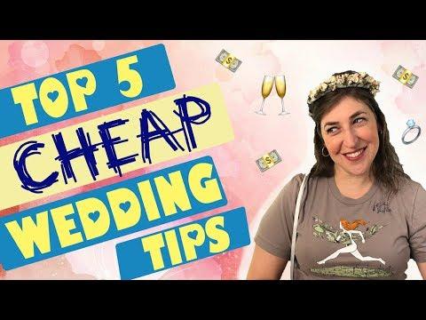 Top 5 Wedding Planning Tips To Save Money & Sanity || Mayim Bialik