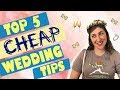 Top 5 Wedding Planning Tips To Save Money & Sanity || Mayim Bialik