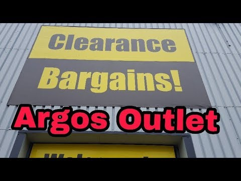 ARGOS Clearance Warehouse - Discount Store ! Shop With Me