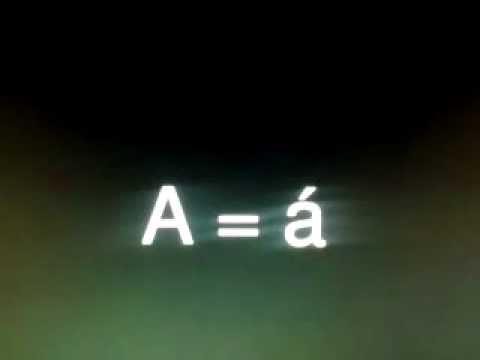 Brazilian portuguese alphabet with pronunciation.