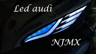 LED AUDI NEW JUPITER MX BIRU