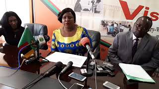 Dora Siliya's Press Briefing