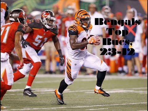 Bengals top Bucs in preseason opener