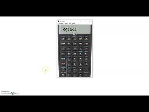 HP 10bii+ Basics