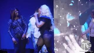 "Tamar Braxton Performs ""Love & War"" w/ Fans & James Wright"
