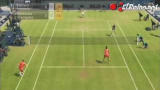 Vídeo análisis/review Virtua Tennis 2009 - Wii