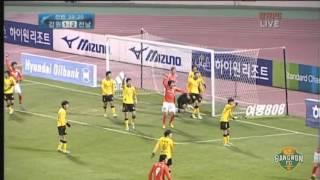 2012 K리그 41R 강원FC vs 전남드래곤즈 하이라이트