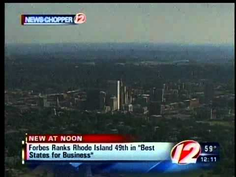 RI second worst state for business