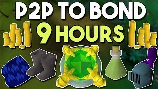Bond in 9 Hours from Scratch on a New P2P Account! Oldschool Runescape money Making Guide! [OSRS]