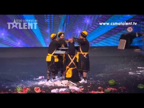 Bir Khalsa Group | Česko Slovensko má talent 2012
