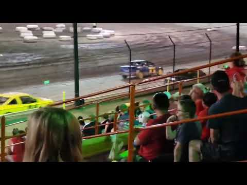 Sycamore speedway racing July 12, 2019 Feature 1 Race
