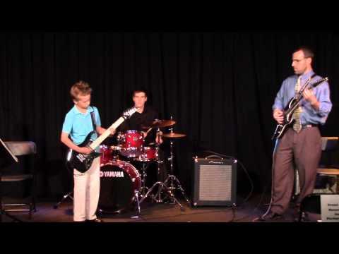 Gabe's recital - June 6, 2014
