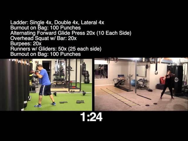 Full Body Circuit Ft Gary From Final Round Training Workout Challenge Routine For Weightloss