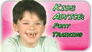 Potty Training Advice From Kids (Kid Advice)