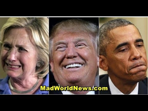 TRUMP BYPASSES FAKE NEWS TO ALERT AMERICANS CROOKED HILLARY & OBAMA RATS HAVE BEEN CAUGHT!