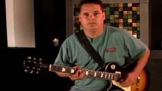 Guitar Warm Ups for Lefties : A Major Pentatonic Left Handed Guitar Licks: Part 2