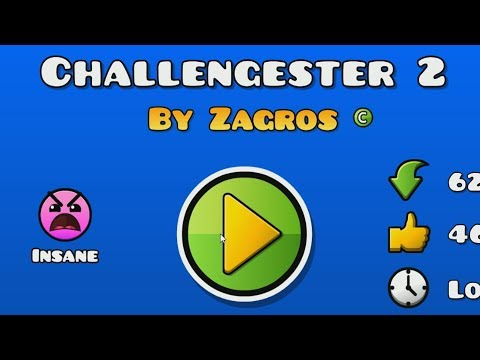 Challengester #5 | THE ULTIMATE CHALLENGE | Geometry Dash 2.1