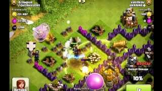 Clash of Clans | 42 Wizards Die in ONE Second! Biggest Fail!