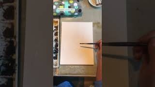 How to watercolor trees