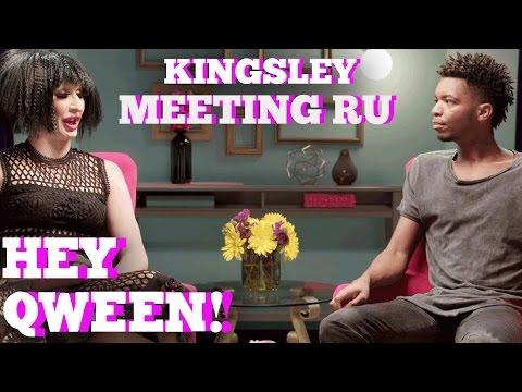 Kingsley On Meeting RuPaul and Detox: Hey Qween! HIGHLIGHT