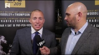georges st pierre on return to ufc vs michael bisping full interview