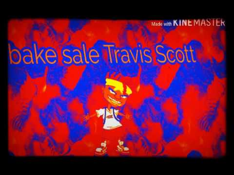 Travis Scott bake sale