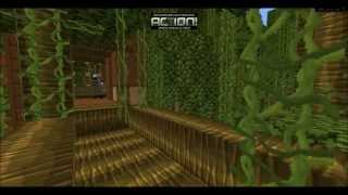 Minecraft: Tree house in the jungle