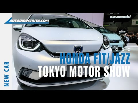 2020 Honda Jazz / Fit At The Tokyo Motor Show