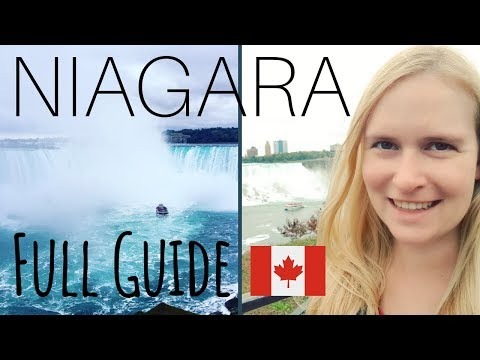 In-Depth Guide: Niagara Falls On A Budget + Canadian VS American Side | Travel Vlog & Guide