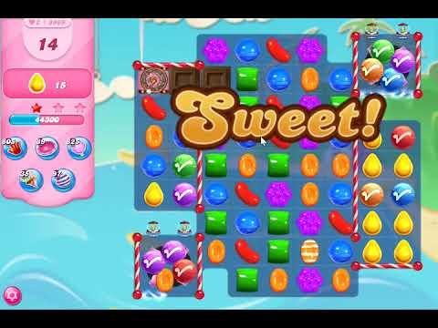 Candy Crush Saga Level 3969 NO BOOSTERS