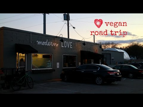 Vegan road trip: Modern Love in Omaha, Nebraska