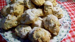Яблочное печенье-вкусное и очень нежное.