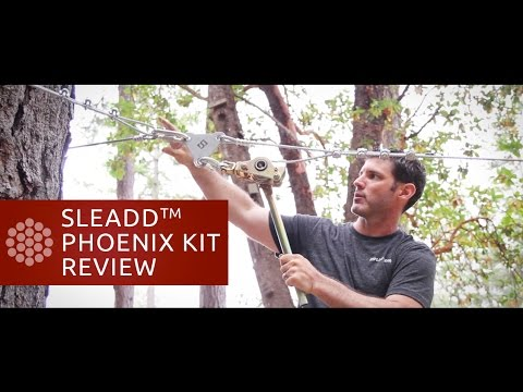 Backyard Zip Line Reviews backyard zip line phoenix kit review - youtube