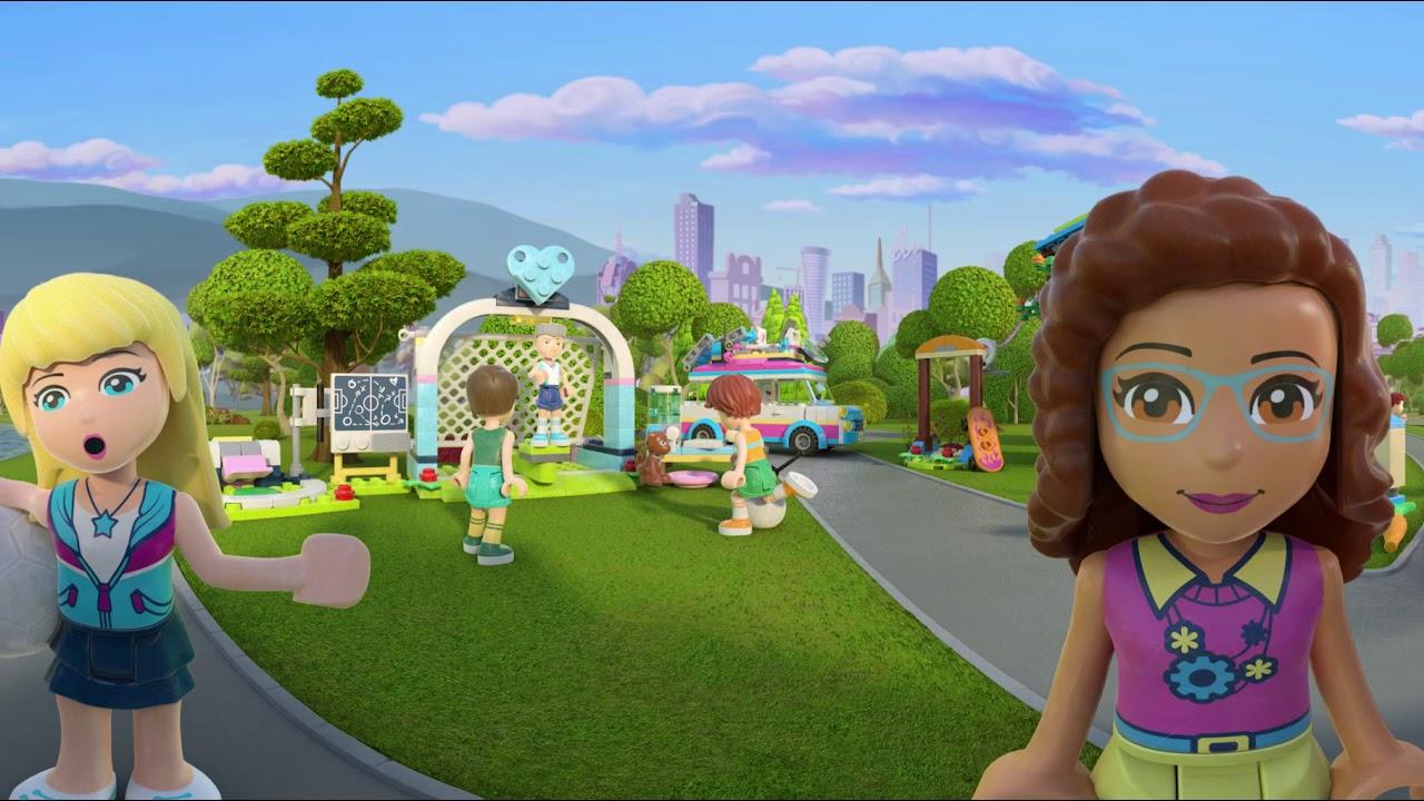 Witaj W Mieście Heartlake Lego Friends Film Interaktywny 360