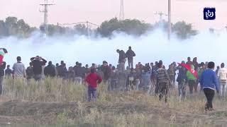 قوات الاحتلال تقمع بالرصاص الحي مسيرات سلمية بالضفة الغربية المحتلة