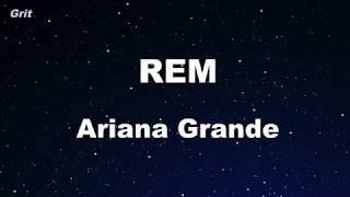 R.e.m Ariana Grande Karaoke With Guide Melody Instrumental.mp3