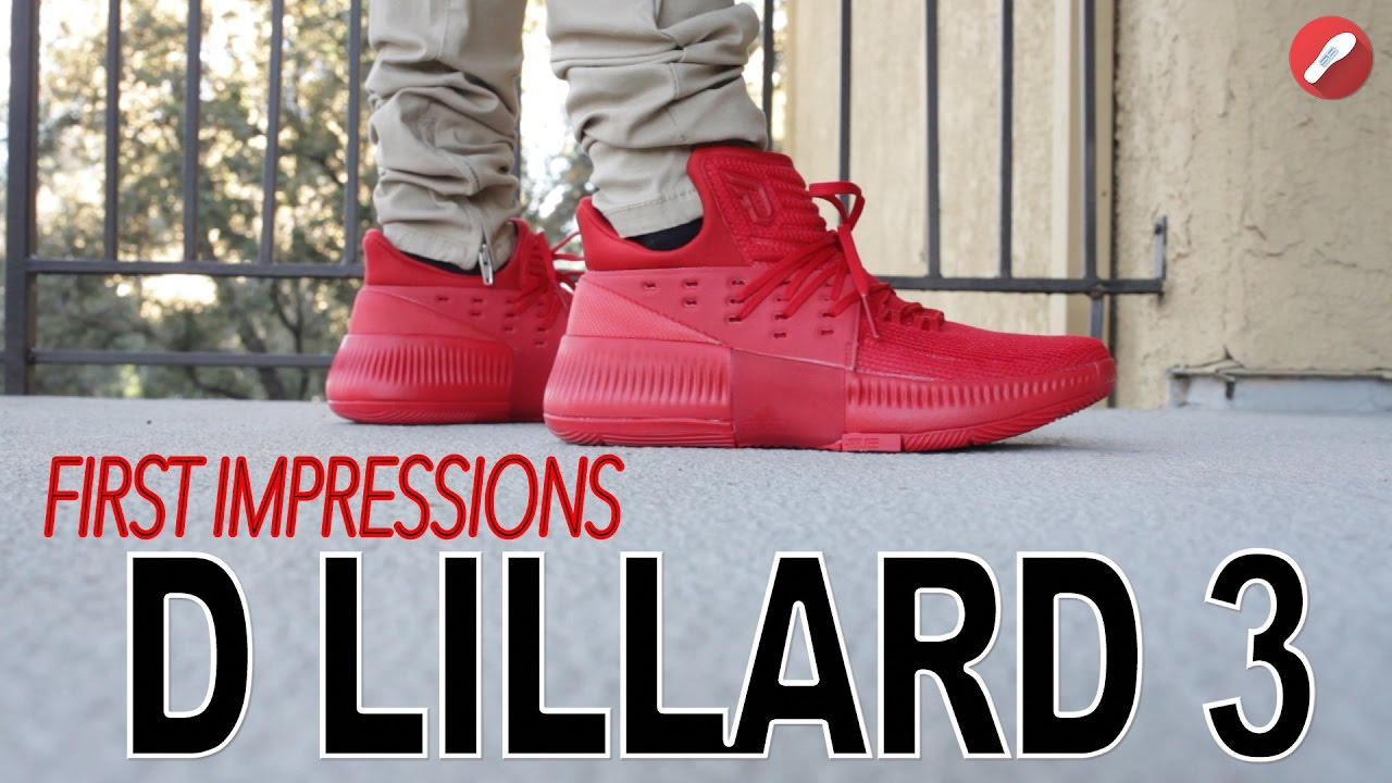0a8c54bb83da ... uk adidas d. lillard 3 dame 3 first impressions youtube 4a062 d0f35