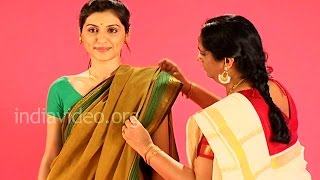 Madurai Saree Tutorial In Flower Seller Style