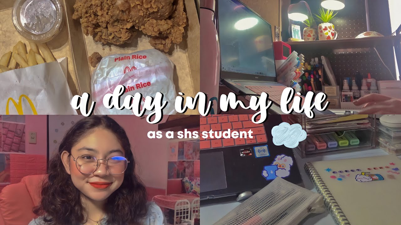 Download day in my life as a shs student 🥤🧸 (humss) midterms + meetings, projects & more!   isabella gusto