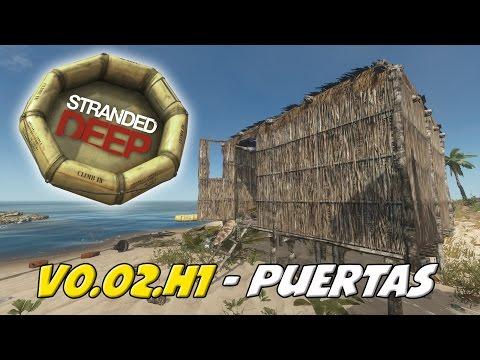 Stranded Deep - Alpha 0.02/0.02.H1: Puertas, Camas móviles, Pizarras y tortugas