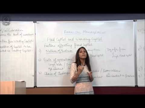 Factor Affecting Fixed Capital  Class XII Bussiness Studies by Dr  Heena Rana