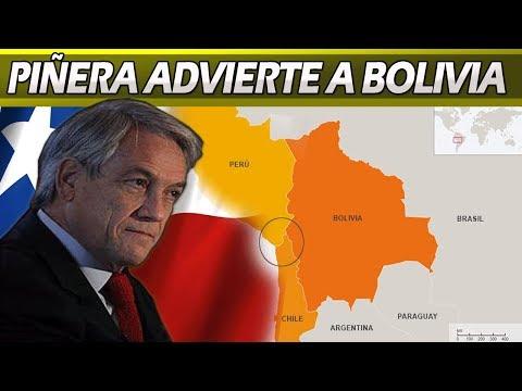 Piñera Advierte a Bolivia Que Defenderá Soberanía de Chile