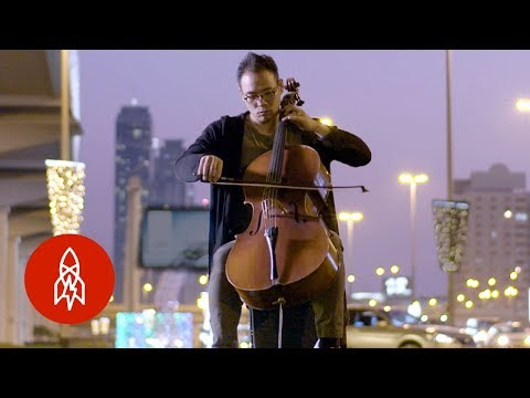 Reinventing Electronic Music With Dubai's Cellist DJ