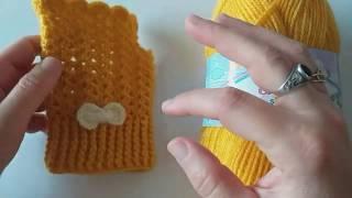 kolay tığ işi  parmaksız eldiven yapımı#örgü eldiven yapımı#