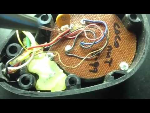 Rk56 mic switch wiring - YouTube