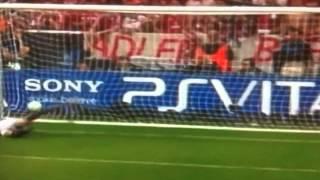 Champions League Final 2012 : Bayern Munich (1-1) Chelsea : Penalty Shootout (3-4)