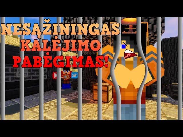 NESĄŽININGAS KALĖJIMO PABĖGIMAS!